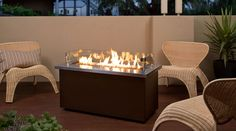 hbfirepits - I like the safety glass surround for the kids...! 42″ Endless Summer Fire Table 50,000 BTU's Fully Portable $1999.99