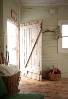 wooden door. For when I live in a barn... One of my many future homes haha