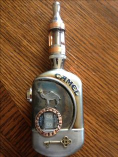 Steampunk 'Camel' electronic cigarette APV (advanced personal vaporizor)