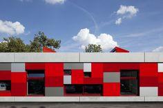 Ecole maternelle et primaire / Condorcet / Evry Architecture