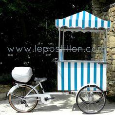 ice cream cart, triporteur,  Eisfahrrad, carrettino gelati