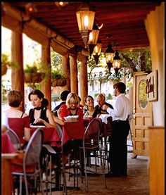 El Farols, Spanish restaurant in Santa Fe with great atmosphere.  Stop in for tapas and a glass of wine after a long day visiting the art galleries.