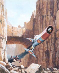 Don Lawrence, retro-futuristic, science fiction art