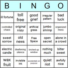 oxymorons-bingo-card.png 460×460 pixels