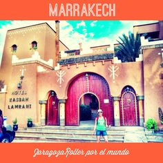 La camiseta verde en Marrakech. Marrakech, Taj Mahal, Building, Travel, Supreme T Shirt, World, Zaragoza, Green, Viajes