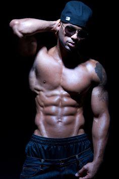Black Men Muscular Male Model | Tori | Fresh Face Male Models
