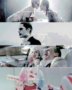 harley quinn, joker, and suicide squad image Harly Quinn Quotes, Harley And Joker Love, Black Joker, Hearly Quinn, Joker Quotes, Avengers, Joker Batman, Gotham Batman, Batman Art