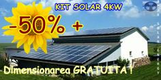 PROMOTIE -50%+Dimensionare GRATUITA-kit solar 4KW - AMAR SOLAR ENERGY
