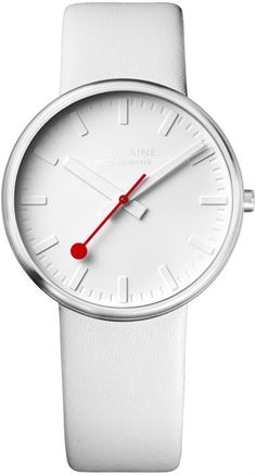 Mondaine White Giant Limited Edition http://www.watchismo.com/mondaine-A660.30328.16SBN.aspx