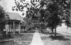 Summer Cottages at Lake Erie's Rye Beach ca. 1914 from Lake Erie's Yesterdays