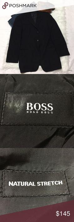 Hugo Boss Blazer 🔵 Stylish and classy Blazer by Hugo Boss. Dark blue Hugo Boss Suits & Blazers Sport Coats & Blazers