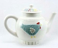 Gisela Graham Traditional Hen Chicken Ceramic Breakfast Teapot Easter Home Gift | eBay