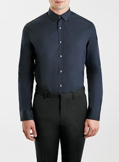 Selected Homme Navy Shirt