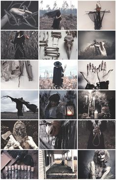 Scarecrow Witch aesthetic for anon
