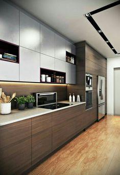 Individuelle Küchen, Küche Dekoration Ideen, Graue Küchen, Wohnung Küche,  Küche Einrichten,