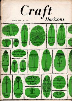 Mid-Century Modern Graphic Design: Craft Horizons, 1949