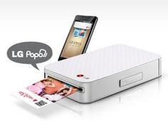 Pocket Photo PD221 SILVER Mini Mobile Printer for Android Smartphone from LG $112.99