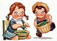 Campbell's Soup Kids | SheWalksSoftly