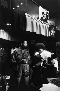 The Black Panther Party for Self-Defense (BPP) - Eldridge & Kathleen Cleaver
