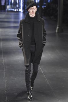 LOOK | 2015-16 FW PARIS MEN'S COLLECTION | SAINT LAURENT | COLLECTION | WWD JAPAN.COM