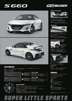 Carsthatnevermadeitetc — Honda S660 Mugen, 2016. A modified version of...