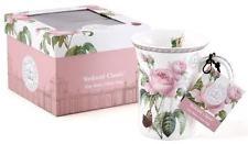"""Kew """"Redoute clásico"""" Fine Bone China Tulip forma de Taza de regalo caja de presentación"""