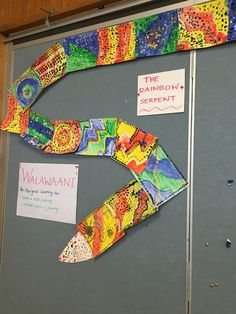 The rainbow serpent - class project