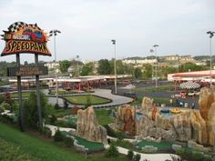 Nascar Speedpark - Attractions include a mini-golf course with a dragon and bumper boats as well as the Thrill Zone with family fun rides.