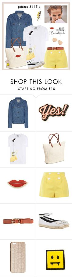 """""""Patch It, Pin It, Perfect!♥♥♥"""" by marthalux ❤ liked on Polyvore featuring GINTA, A.P.C., Anya Hindmarch, Acne Studios, Georgia Perry, Boutique Moschino, Étoile Isabel Marant, Roger Vivier, Dagmar and Victoria Beckham"""