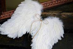 Vianoce - Shabby anjelské krídla - 4635100_