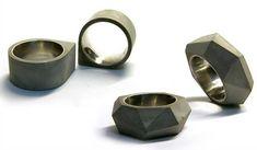 the making of: concrete rings by 22 design studio | Fabricage betonringen - betonsierraad