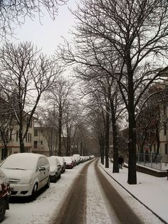 Winter snow in Kizilay, Ankara, Central Anatolia_ Turkey