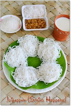 - Sweet Idiyappam Recipe - String Hoppers Recipe Idiyappam- makes since as soon as I get rid of that Indian cooking utensil I find out what it was forIdiyappam- makes since as soon as I get rid of that Indian cooking utensil I find out what it was for Indian Food Recipes, Asian Recipes, Indian Snacks, Indian Cookbook, Sri Lankan Recipes, Fried Fish Recipes, Indian Breakfast, Indian Kitchen, India Food