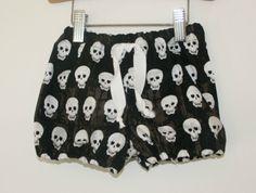 Pirate Pants (skulls) 3-6m | Felt