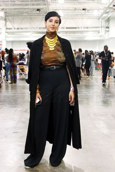 a7aa8ffa8c2 Ankara kitenge chitenge African print High neck top with black high waist  wide leg loose pants