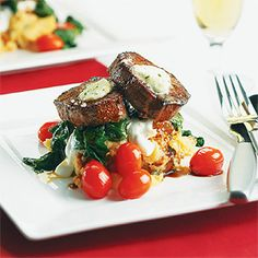 Southwestern Tenderloin Steaks with Chipotle Mashed Potatoes | Cuisine at home eRecipes