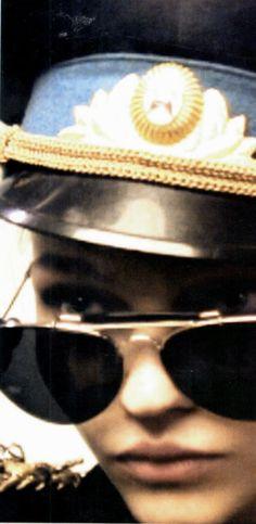 Vogue Italia photoshoot wish Sasha Pivovarova // Linda Farrow Luxe Linda Farrow Sunglasses, Sasha Pivovarova, High Fashion, Archive, Vogue, Photoshoot, Style, Templates, Walkway