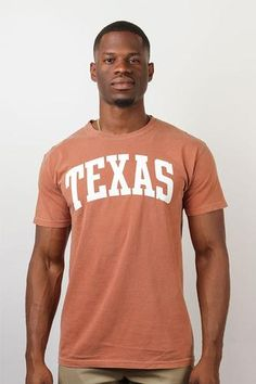 a2fadb587bc80 Comfort Colors Collection - Texas Arch T- Shirt Clothing Company