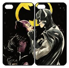 Catwoman and Batman Couple  Samsung Galaxy S3 S4 S5 Note 3 case, iPhone 4 4S 5 5s 5c case, iPod Touch 4 5 Couple Case