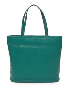 Leather+Kay+Double+Perforated+Tote