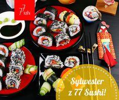 Sylwestrowa zabawa w towarzystwie ulubionego sushi na dobre przyjęcie Nowego Roku! Zamówienia możecie składać online tutaj: http://bit.ly/1gwAMVV :) Zapoznajcie się także z godzinami otwarcia naszych lokali:http://bit.ly/1JGAepf :)