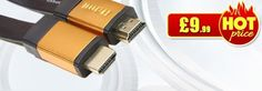 Most people are still using outdated analog video standards, that is why purchasing HDMI Cables or High Definition Multimedia Interface cables in order to increase their viewing experience is encouraged. These cables allow the transmission of uncompressed signals from a source. This means that you will get every percentage of quality.