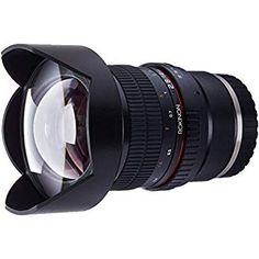 Sony E-Mount Full Frame Lenses: Rokinon Ultra Wide Lens for Sony E-mount and Fixed Lens for Other Cameras Sony A7 Lenses, Best Canon Lenses, Ultra Wide Angle Lens, Digital Camera Lens, Fixed Lens, Full Frame Camera, Sony E Mount, Camera Reviews, Fotografia