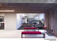 Working creativity into space - Project by M Moser Associates