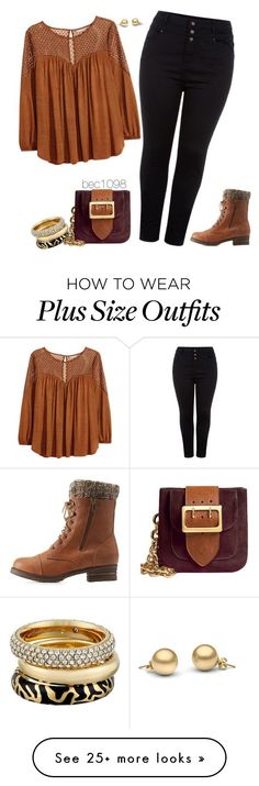 """""""Untitled #1280"""" by bec1098 on Polyvore featuring H&M, Charlotte Russe, Burberry and Michael Kors"""