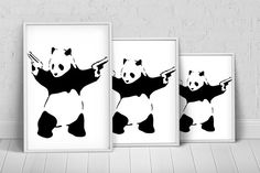 Banksy Stick'em Up Art Print Poster on Etsy, $27.31 AUD