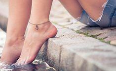 Trend: #Fußkettchen