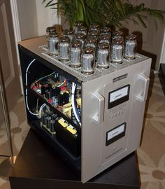 Audio Research's Reference 750 vacuum tube monoblock amplifier ($55,000/pair)