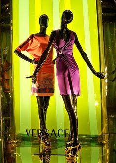 Versace window display