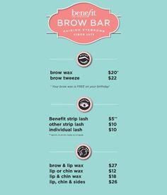 Benefit Brow Wax Service (at select ULTA stores) #21daysofbeauty ...